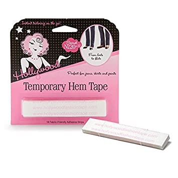 Amazoncom Hollywood Fashion Secrets Temporary Hem Tape 18 Fabric