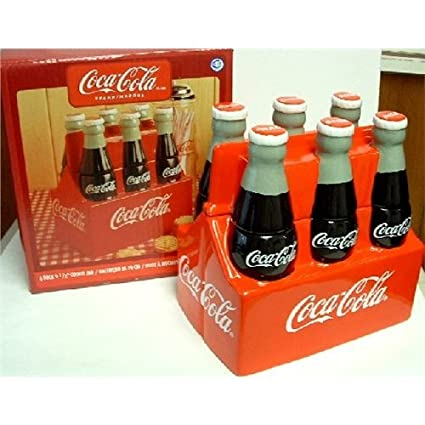 Coca Cola Cookie Jar 6 Pack