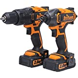 Triton T20TP02 Twin-Pack with Combo Hammer Drill and Impact Driver by Triton