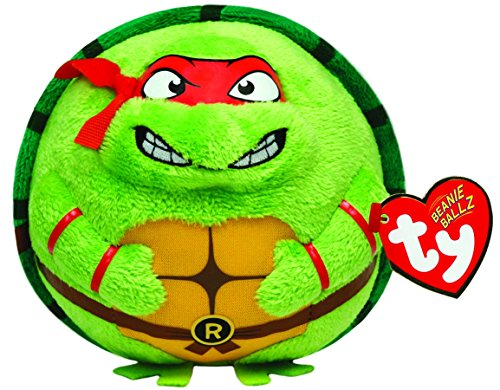 Ty Beanie Ballz Raphael Mask, Red]()