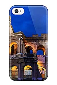 Awesome Colosseum In Rome Flip Case With Fashion Design For Iphone 4/4s