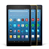 Fire HD 8 Variety Pack, 32GB - Includes Special Offers (Black/Marine Blue/Canary Yellow)