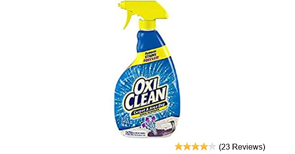 Oxicleantm 24 Oz Carpet Area Rug Stain Remover Spray Multi Color
