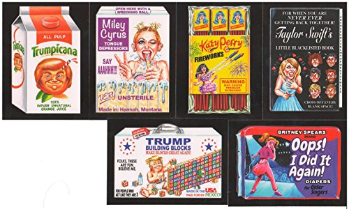 2017 Topps - Wacky Packages 50th Anniversary - COMPLETE 90 Card Set ()