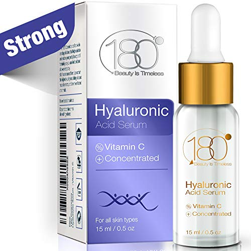 (Hyaluronic Acid Serum For Face - 180 Cosmetics - Face Serum For Face and Eyes - Pure Hyaluronic Acid Serum for Reduced Wrinkles and Fine Line and for Visibly Plumped and Hydrated Skin)