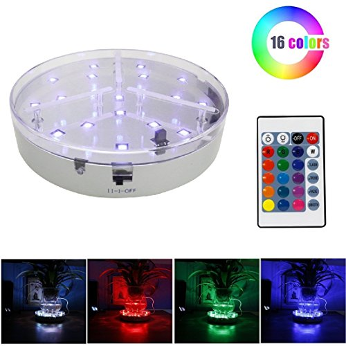 Led Light Plate For Vase in US - 3
