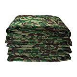 Moving Blanket (4-pack) 72'' X 80'' US Cargo Control Camo Moving Blanket (22 Lbs/4 pack,Camo)