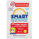 Smart Family Nutrition - Tummy Smart Lo Han Fruit Melts, Children's Probiotic Support for Digestion and Gut Health, 10 Billion CFU, Sugar Free, Gluten Free, 2 Years and Older, 30 Soft Melts