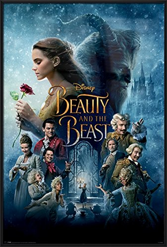 Beauty And The Beast - Framed Movie Poster / Print