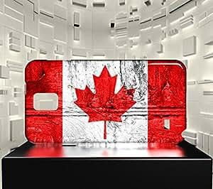 Funda Carcasa para Galaxy Note 4 Bandera CANADÁ 07
