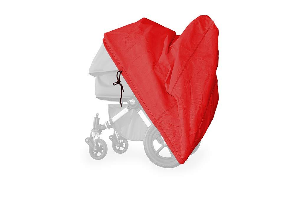 Softgarage Buggy Softcush Rot Abdeckung Fur Kinderwagen Hartan Racer Gt Regenschutz Regenverdeck Amazon De Baby