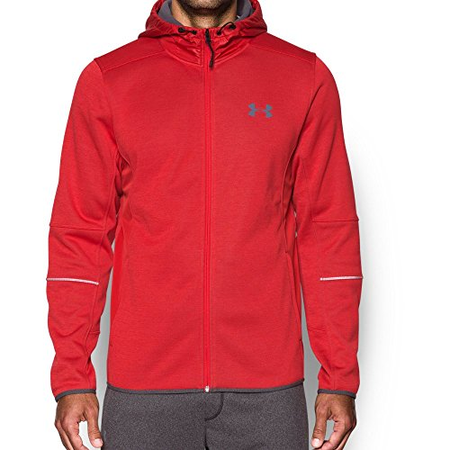 Under Armour Men's Storm Swacket, Red/Graphite, Small