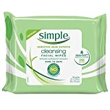 Simple Cleansing Facial Wipes 25 Each (Pack of 5) Review