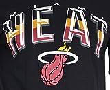Ultra Game NBA Miami Heat Mens Arched Plexi Short