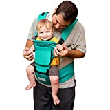 BabySteps Ergonomic Baby Carrier with Hip Seat for All...