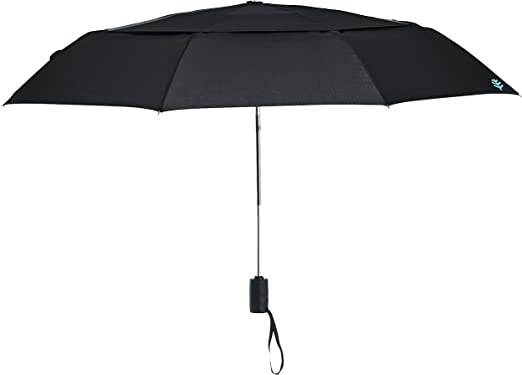 Coolibar UPF 50+ 42u0027u0027 Titanium Travel Umbrella   Sun Protective (One Size