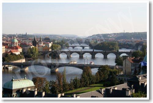 Prague - Czech Republic - NEW World Travel Poster