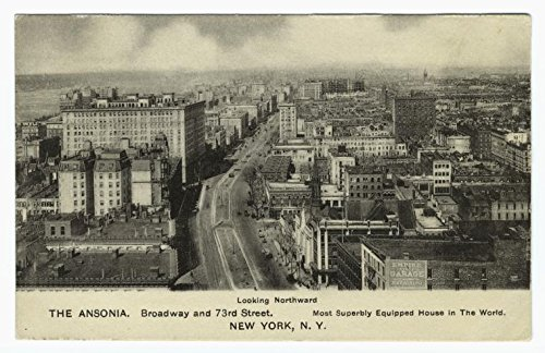 Historic Pictoric Print   The Ansonia, 1911   Vintage Wall Art   36in x 24in