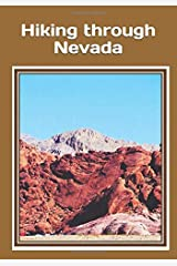 Hiking through Nevada: An extra-large print senior reader classic book for armchair travel – with colorful photos – plus  coloring pages Paperback