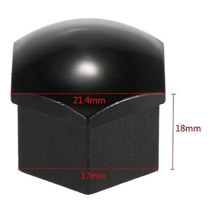 baberos de dibujos animados coberturas tapacubos 17 mm plástico Tapones de rosca Universal para coche neumáticos