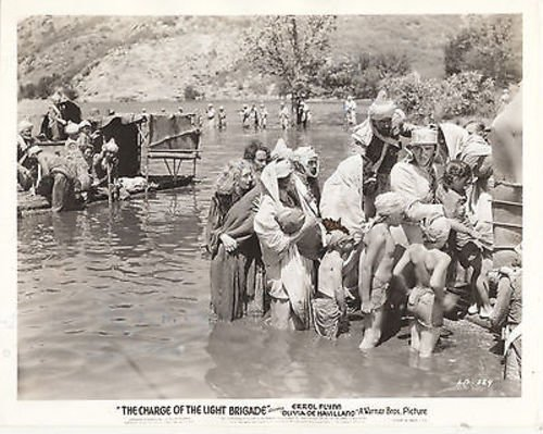 ERROL FLYNN/CHARGE OF THE LIGHT BRIGADE/1936/8X10 ORIGINAL PHOTO CC6431