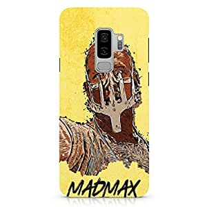 Loud Universe Madmax Max Artwork Samsung S9 Plus Cover with 3d Wrap around Edges