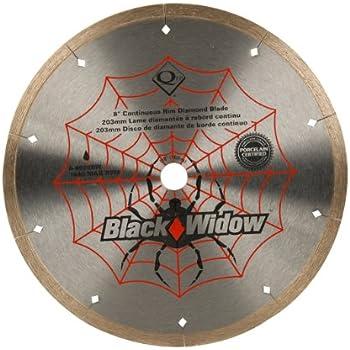 Qep 6 8008bw 8 Inch Black Widow Micro Segmented Rim