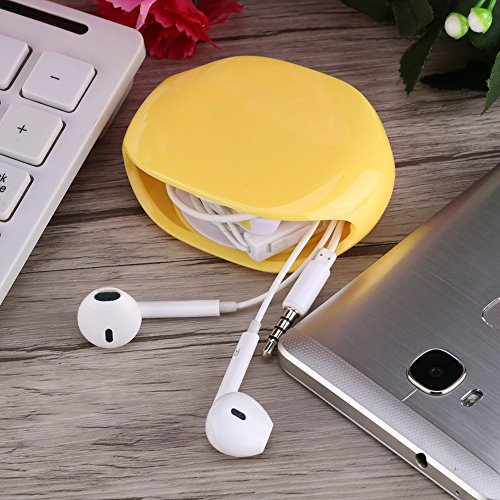 fosa-auto-cable-cord-wire-organizerbobbin-winder-holdercord-managercable-windercord-management-keeper-for-data-cables-headset-headphone-earphone-wiresyellow