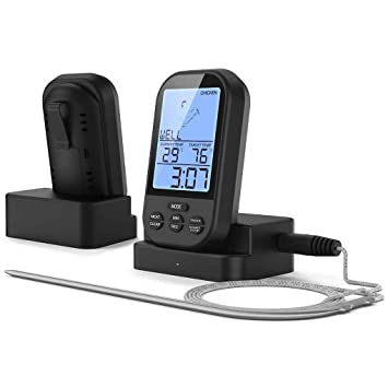 DIAMOEN Medidor de temperatura inalámbrico digital del termómetro ...