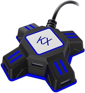 Adaptador de Teclado y ratón, Adaptador de Controlador de Juego para Nintendo Switch/Xbox One/PS4/PS3, Compatible con PUBG, Fortnite, Battle Field, y más: Amazon.es: Electrónica