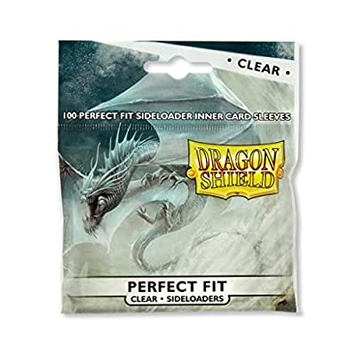 Dragon Shield 100 Standard Size Sideloader Clear Sleeves: Sports & Outdoors