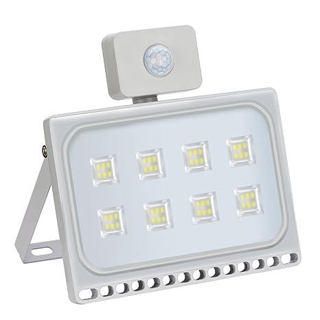 Proyextor LED Foco para Reflector LED con Detector de Movimiento, Ultradelgado, para Interior y