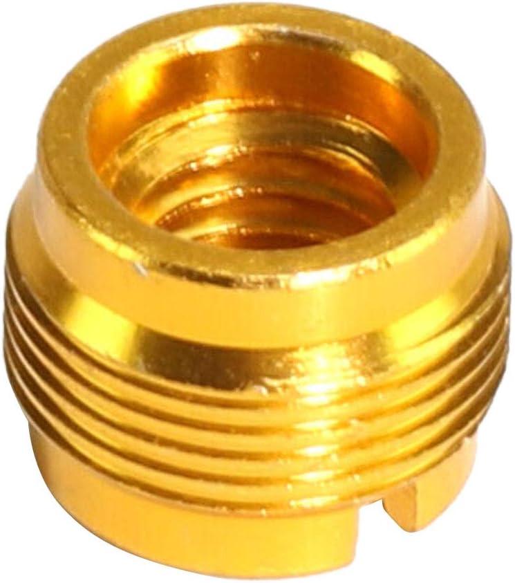 Adaptador De Barril De Clip De Micr/ófono De Aluminio Adaptador De Barril 5//8-27 Macho A 3//8-16 Hembra