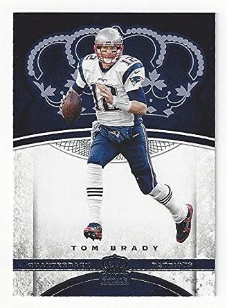 Tom Brady Collectible Football Card 2017 Panini Preferred Football