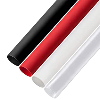 """5 FT 5/' Feet RED 3//16/"""" 5mm Polyolefin 2:1 Heat Shrink Tubing Tube Cable US"""
