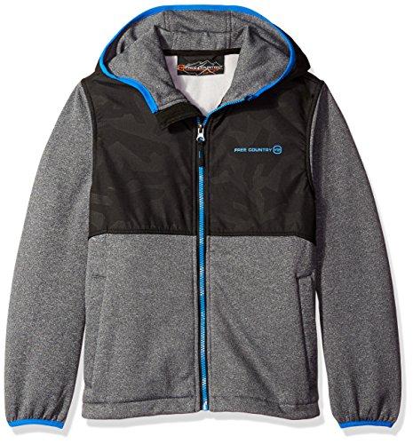 Boys Hooded Fleece Jacket - 8