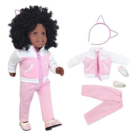 Amazon.com: Dolls Goo Hold - Muñecas de chica negra de 17.7 ...