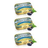 GRETHER'S Pastilles Blackcurrant Sugar Free 60g/2.1oz - 3 Pack