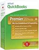 Intuit Quickbooks Premier 2014, English - Accounting Software [OLD VERSION]