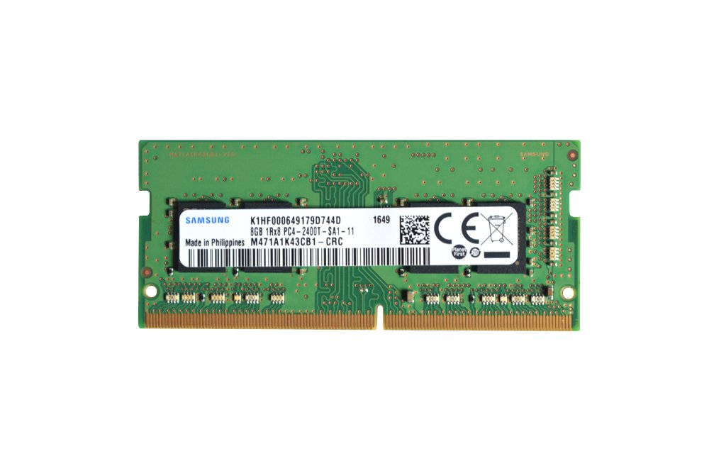 Samsung 8GB DDR4 PC4-19200, 2400MHz, 260 PIN SODIMM, CL 17, 1.2V, ram memory module by Flexx