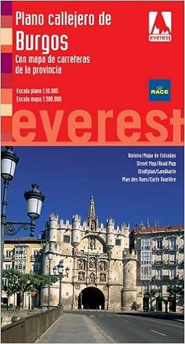 Amazon.com: Plano callejero de Burgos (9788424106379): AA.VV ...