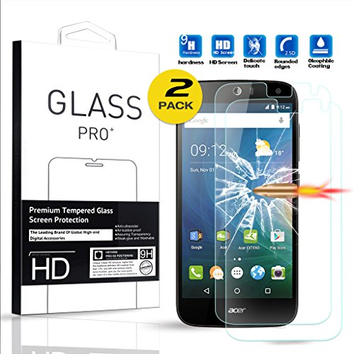 Tempered Glass Screen Protector for Acer Liquid Z630 - 9