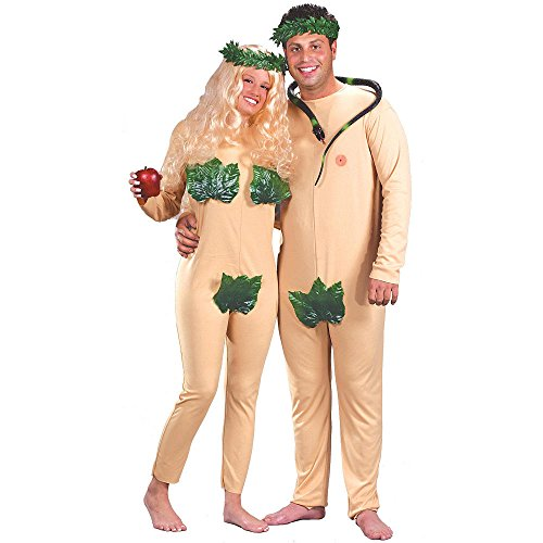 (Adult Size Adam and Eve Halloween Costume GUARANTEED)