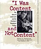 I Was Content and Not Content, Alicia J. Rouverol, 0809322374