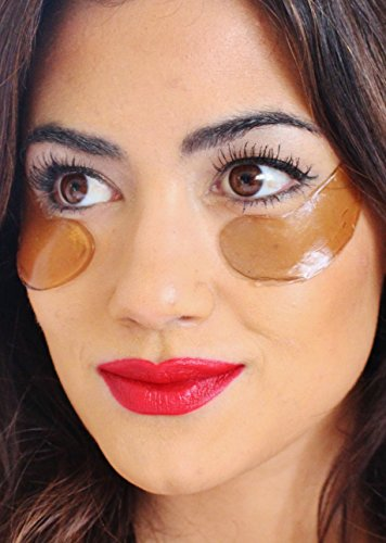Spa Luxe Red Wine Anti-Aging Collagen Eye Mask - Red Wine Collagen Mask