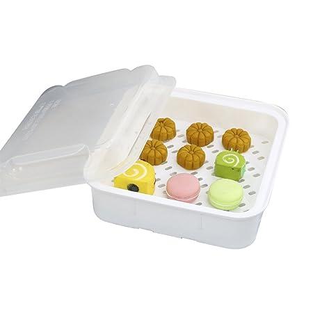 Majome Microondas olla vaporera BPA Free Cocina Cocinar verduras ...