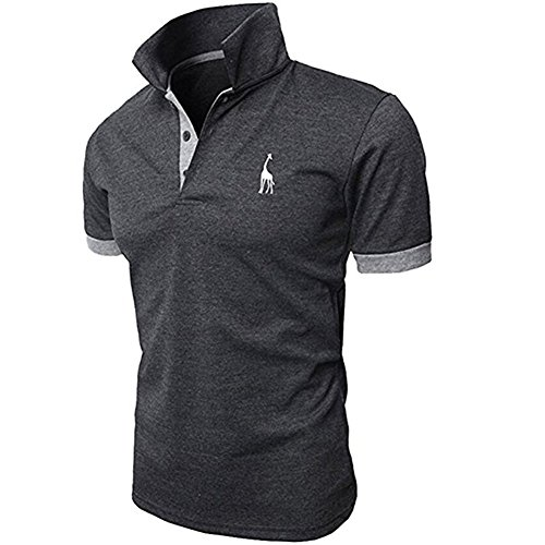 ポロシャツ メンズ 半袖 無地 開襟シャツ サッカー ゴルフ クールビズ 作業着 男性用 夏