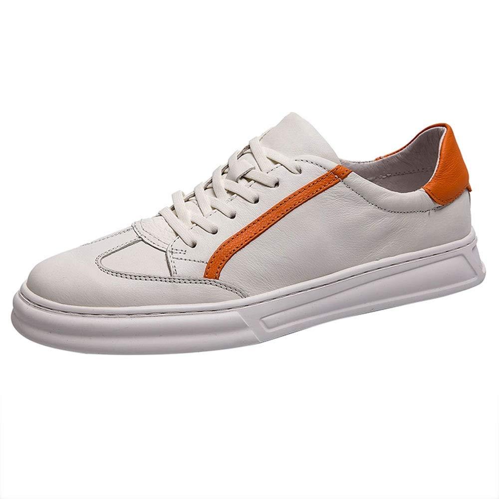 Blanc 42 EU Chaussures HAIZJEN Homme, pour Hommes, de Printemps, de Sport, Blanches