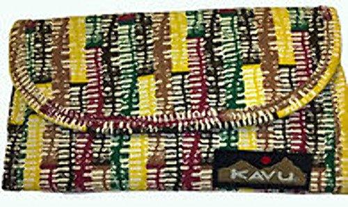 KAVU Big Spender Wallet, Autumn Trellis, One (Big Spender Wallet)