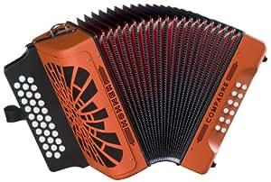 hohner compadre gcf accordion orange musical instruments. Black Bedroom Furniture Sets. Home Design Ideas